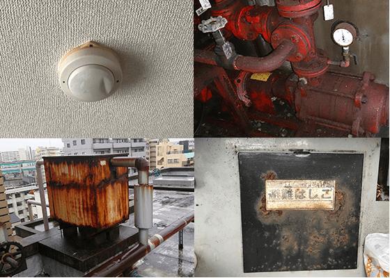 消防設備の不備が被害を拡大します。
